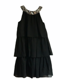 SWEET KIDS BIG GIRLS SPECIAL OCCASION PARTY BLACK DRESS CAPE COD FASHIONISTA
