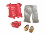 AMERICAN GIRL DOLL RETIRED  ISABELLE MEET OUTFIT