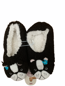 COZY LADIES & GIRLS BUNNY, MERMAID OR PUG SLIPPERS