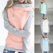 WOMEN'S CASUAL DOUBLE HOODIE SIDE ZIP FALL SWEATSHIRT