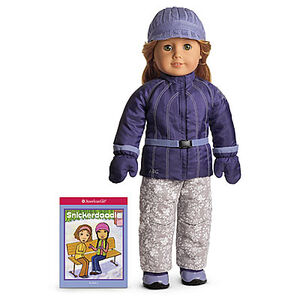 AMERICAN GIRL DOLL RETIRED Snowboard Outfit II JACKET NWOT