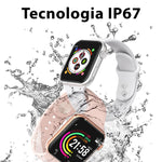 Relógio SmartWatch Inteligente F10 Esporte Fitness Full Screen para Android e iPhone