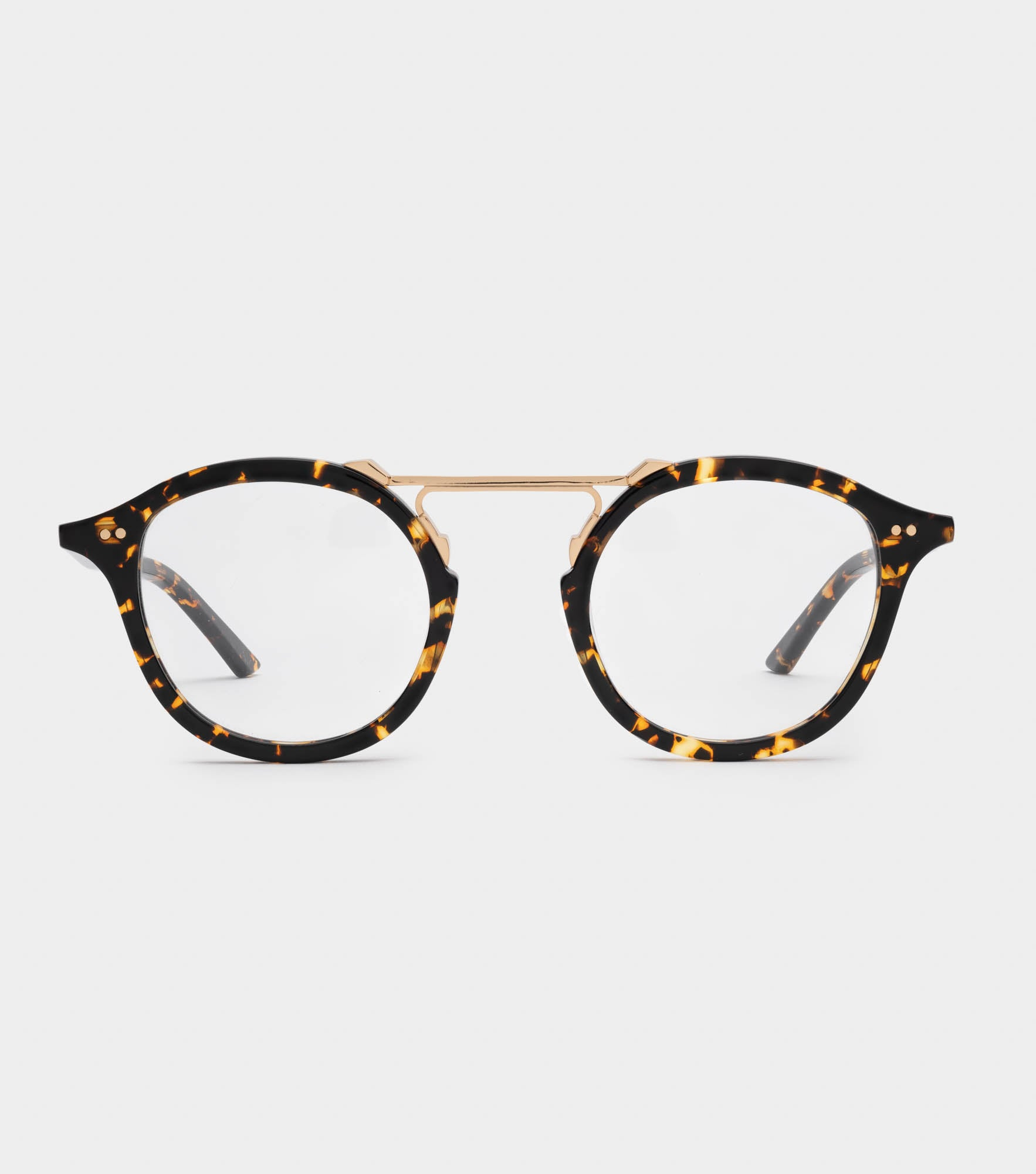 MELROSE OPTICAL Bengal Havana X 24K Gold