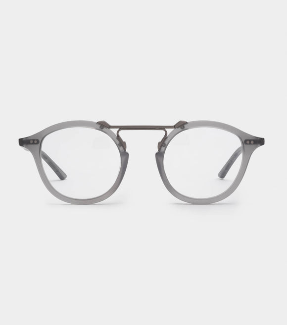 MELROSE OPTICAL Matte Grey X Brushed Gun Metal