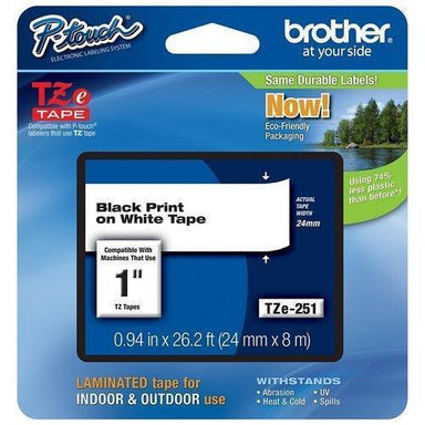 Brother Cinta Laminada P/Rotulador 24Mm