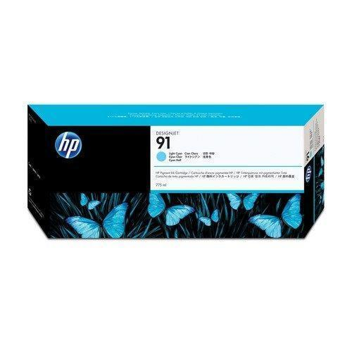 Cartucho-HP-cyan-91-light-C9470A