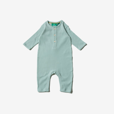 Alpine Green Rib Playsuit