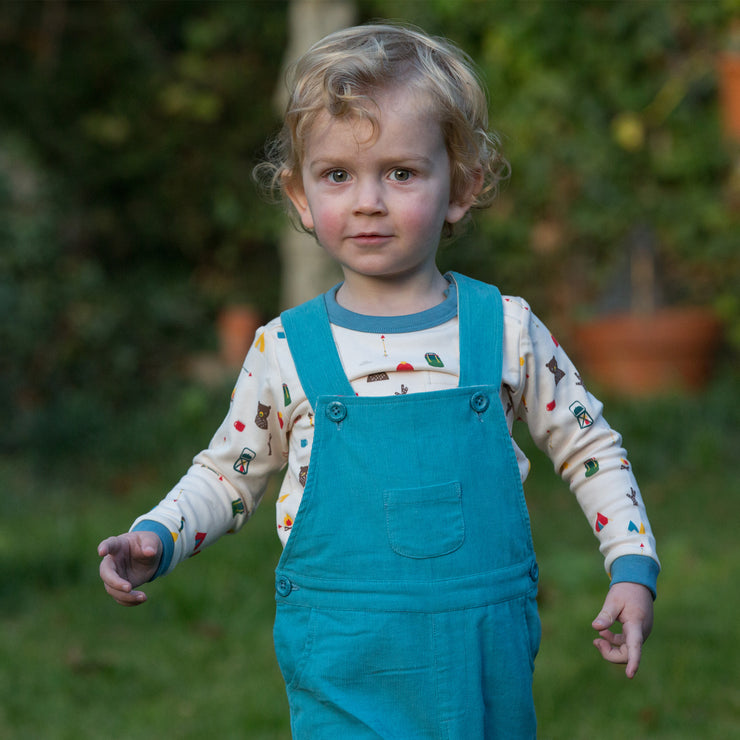 Mountain Blue Classic Dungarees