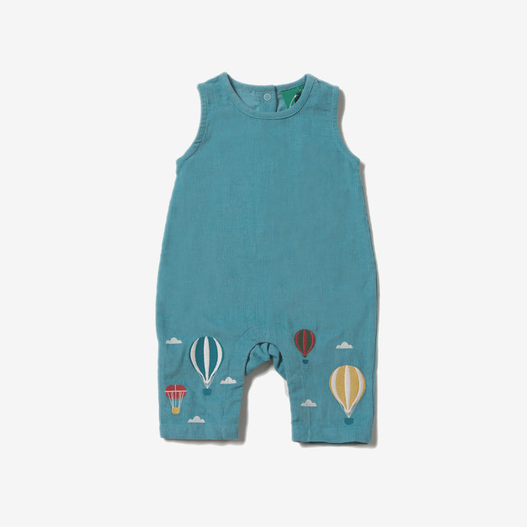 Higher Ground Embroidered Dungarees