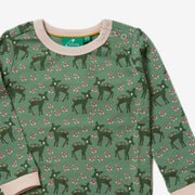 Forest Doe Long Sleeve Tee