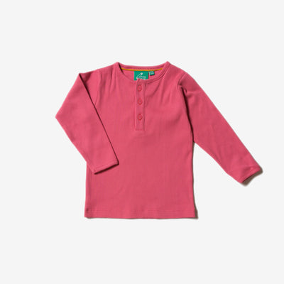 Rose Rib Long Sleeve Tee