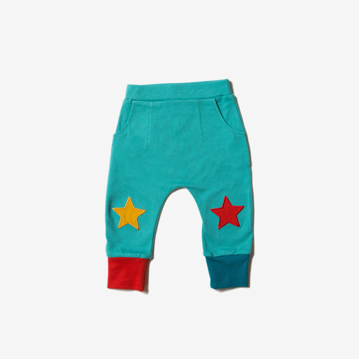 Turquoise Star Joggers