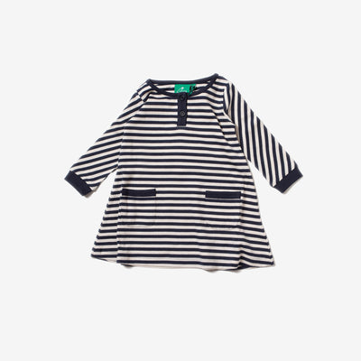 Navy Stripe Playaway Dress