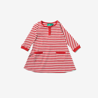 Red Stripe Playaway Dress