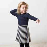 Navy Little Twirler Dress