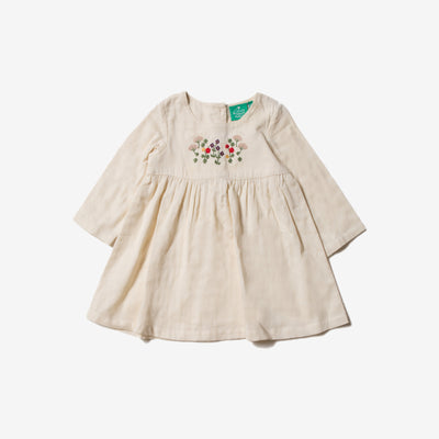 Mountain Blooms Embroidered Dress