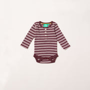 Plum Stripes Forever Baby Body