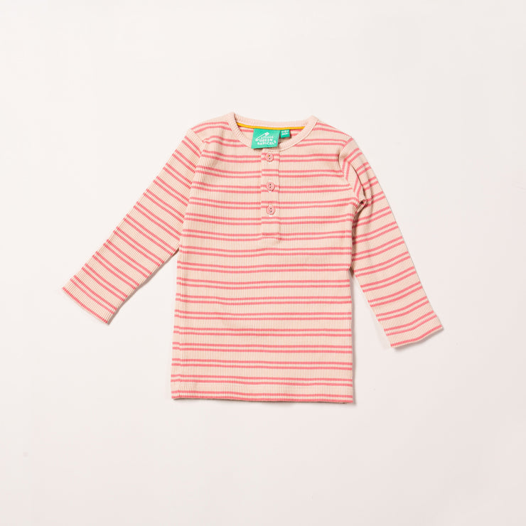 Sugar Pink Stripes Forever Long Sleeve T-Shirt