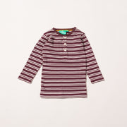 Plum Stripes Forever Long Sleeve T-Shirt