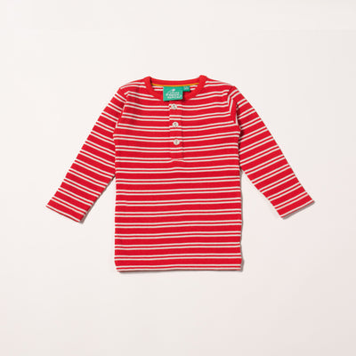 Red Stripes Forever Long Sleeve T-Shirt