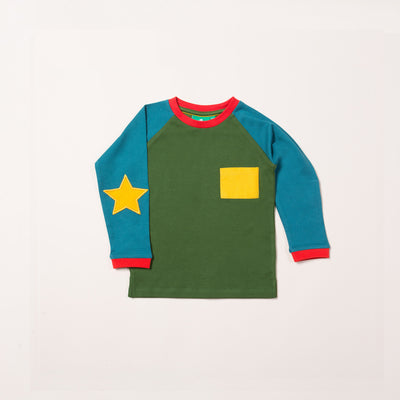 Woodland Green Star T-Shirt