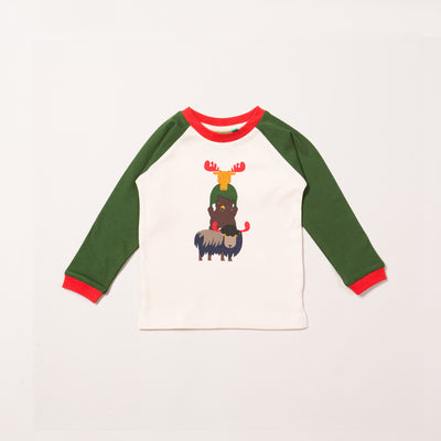 Nordic Animals Raglan T-Shirt