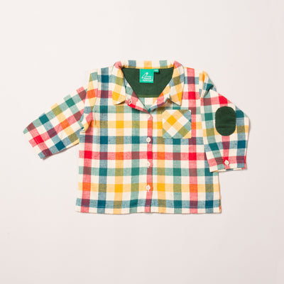 Autumn Rainbow Check Out & About Shirt