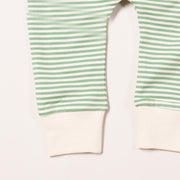 Alpine Green Stripe Wiggle Bottoms
