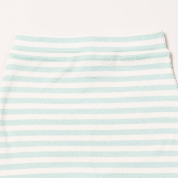 Powder Blue Stripe Wiggle Bottoms