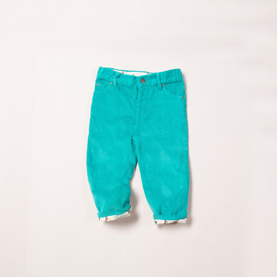 Turquoise Woodland Adventure Jeans