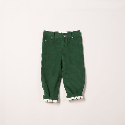 Vintage Green Woodland Adventure Jeans