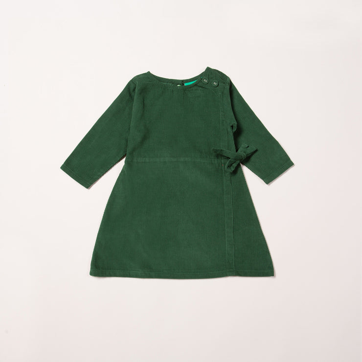 Vintage Green Wrap Up Well Dress