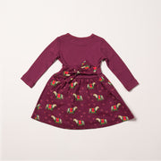 Nordic Horses Little Twirler Dress