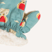 Polar Bear Sherpa Mitts