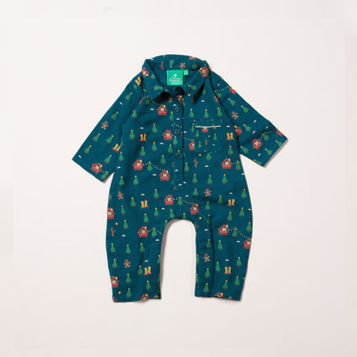 A Winter's Walk Sleepsuit
