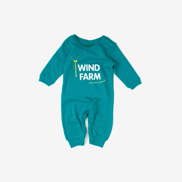 Wind Farm Baby Grow