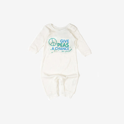 Give Peas a Chance Baby Grow