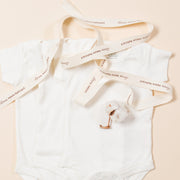 Natural Short Sleeve Baby Body - Pack of 3