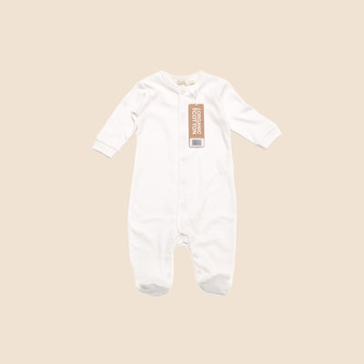 Long Sleeve Baby Grow With Feet