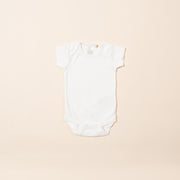 Natural Short Sleeve Baby Body - Single