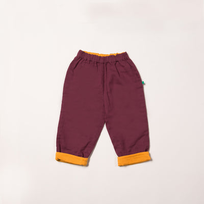 Plum Day After Day Trousers