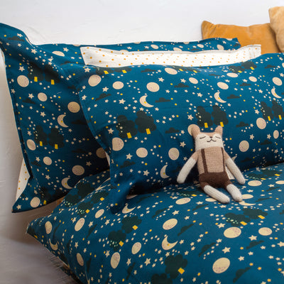 Moon & Stars Sweet Dreams Bed Set - Cot Bed
