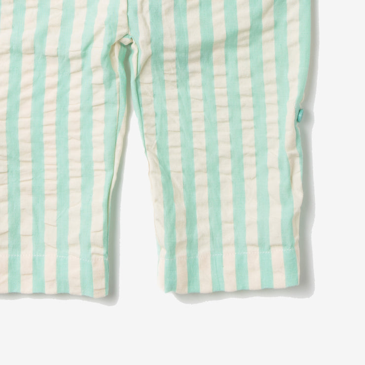 Pale Aqua Stripe Beach Bottoms
