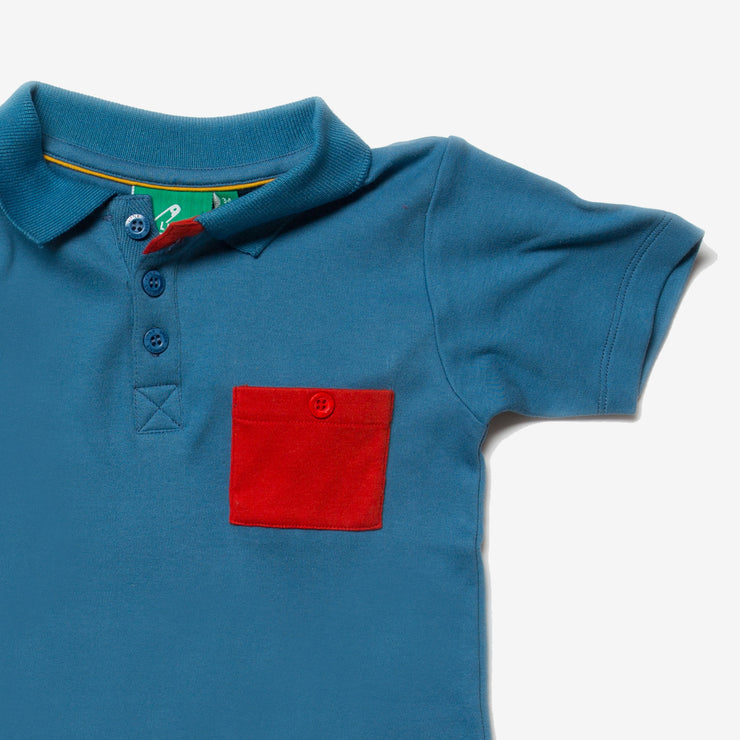 Ocean Blue Sunshine Polo