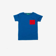 Electric Blue Pocket Essential T-Shirt