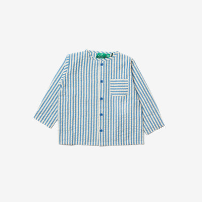 Blue Skies Stripe Summertime Shirt