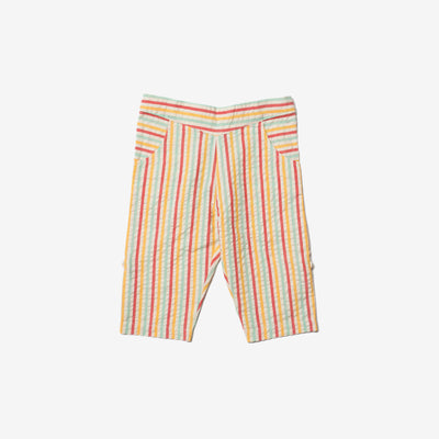 Sunset Stripe Beach Bottoms
