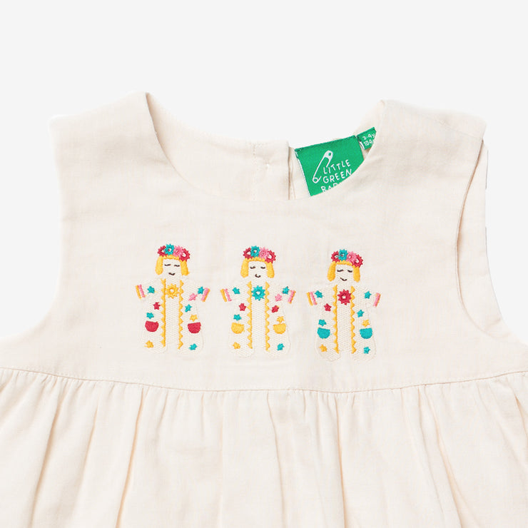 Festival Dancers Embroidered Dress