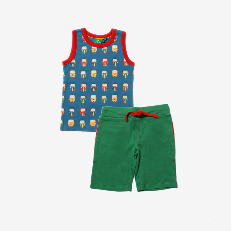 Time To Tuk Tuk Vest Set