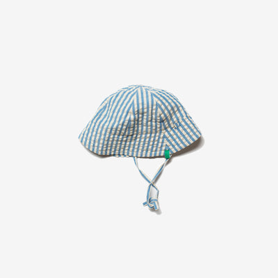Blue Skies Stripe Sunhat